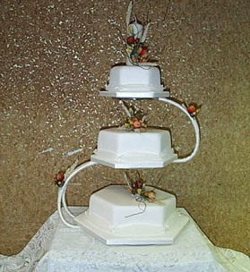 Heriot Chenille Wedding Cake