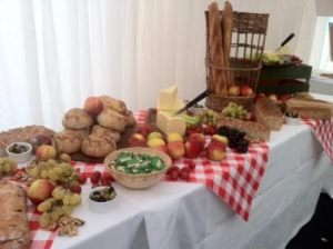 Rustic Wedding Buffet