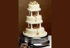 Tiered wedding cakes London