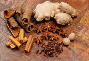 Mixed spices to spice up your food for Valentine's Day