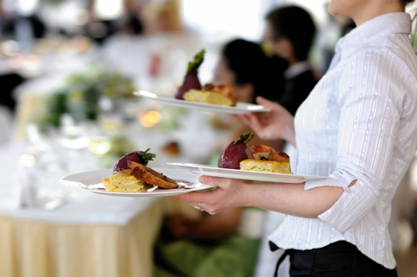 Hire a wedding caterer