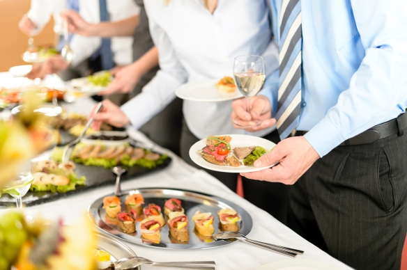 Corporate catering for corporate events
