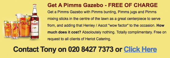 Pimms event offer