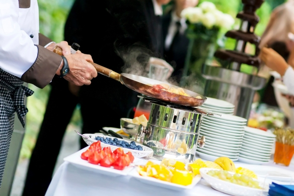 Catering for film production
